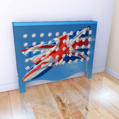 WAREHOUSE Union Jack 1 Radiator Cover
