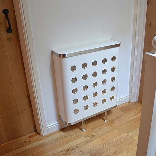 YOYO White (Nickel) Radiator Cover