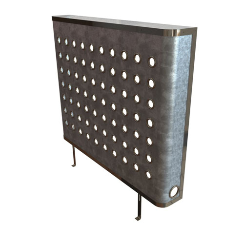 galvanised radiator covers with eyelets
