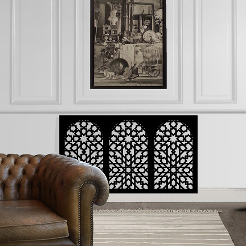 Moroccan Minaret radiator covers
