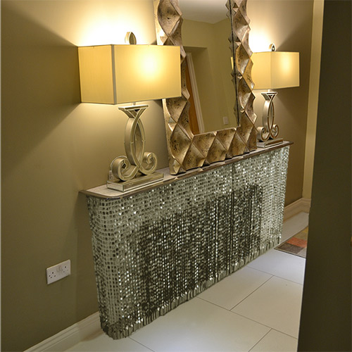 Grey Crystal radiator cover