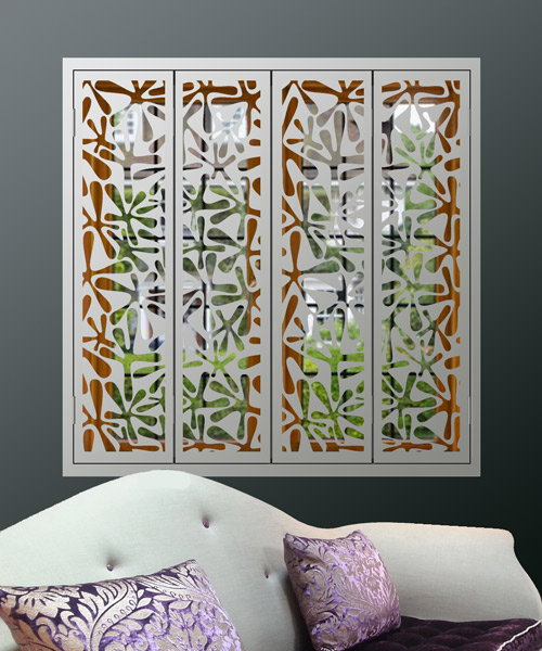 white-security-shutters-in-splat-pattern for modern homes