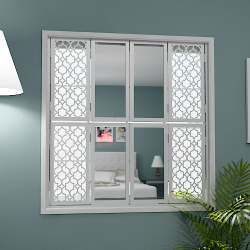 Window shutters with mirrors modern radiator covers for Window design mirror