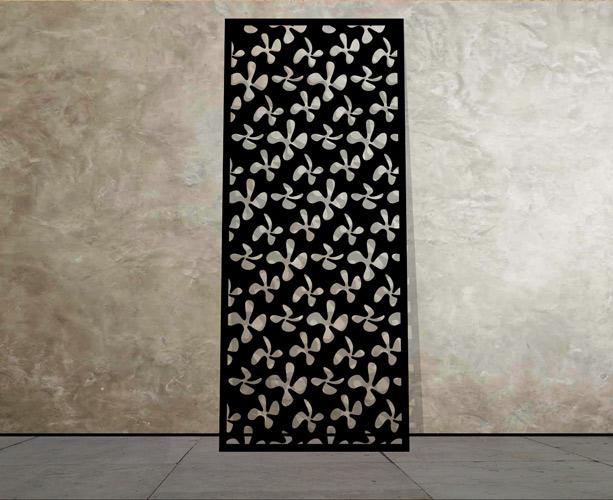 Laser Cut Metal Screens In Decorative Patterns Modern