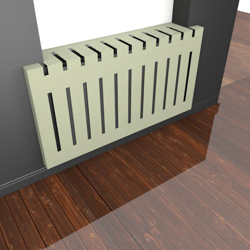 MIAMI Recessed Covers Radiator Cover