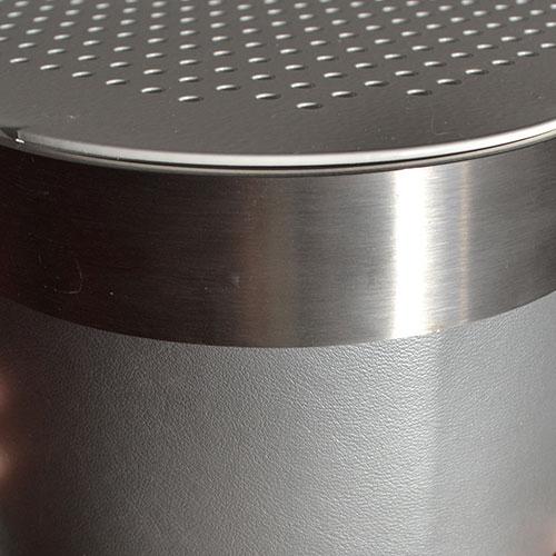 Metallic Silver Radiator Cover