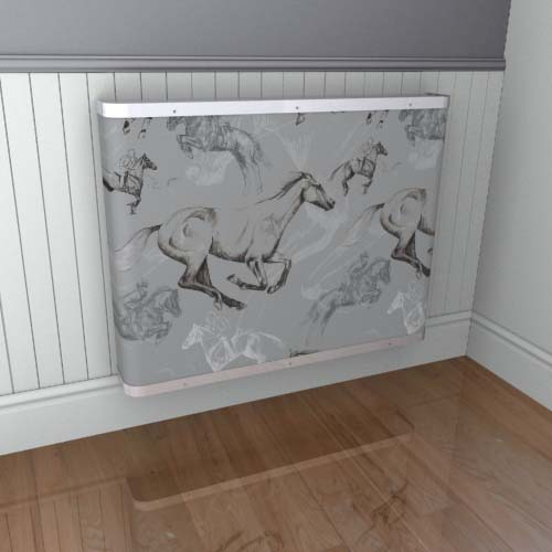 Galloping Horses Cover 1a Radiator Cover
