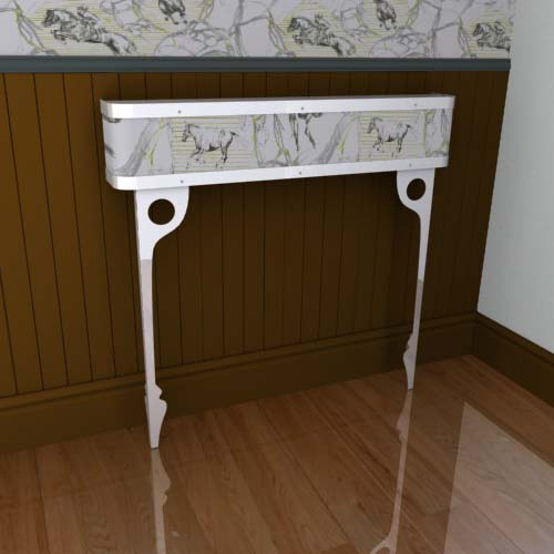 Bridle Horses Console 1a Radiator Cover
