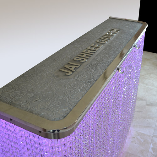 JAI SHREE GANESH Bespoke Crystal console Radiator Cover