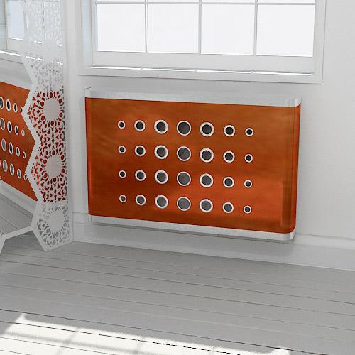 Copper DECO radiator cover Radiator Cover